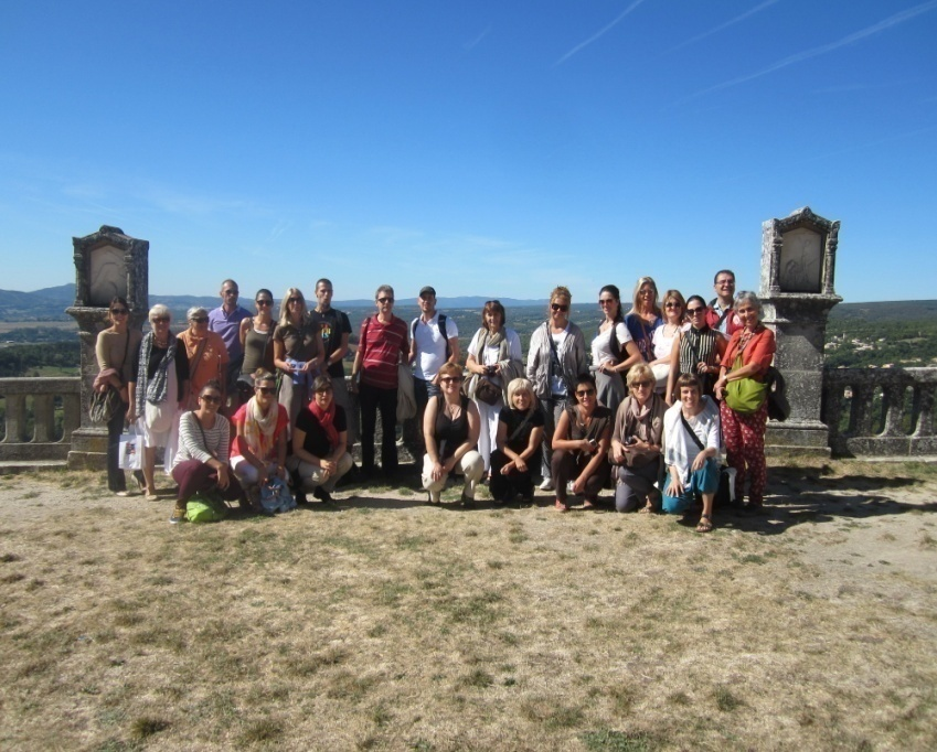 A study visit to Provence organized in the period of 10 15 September 2013