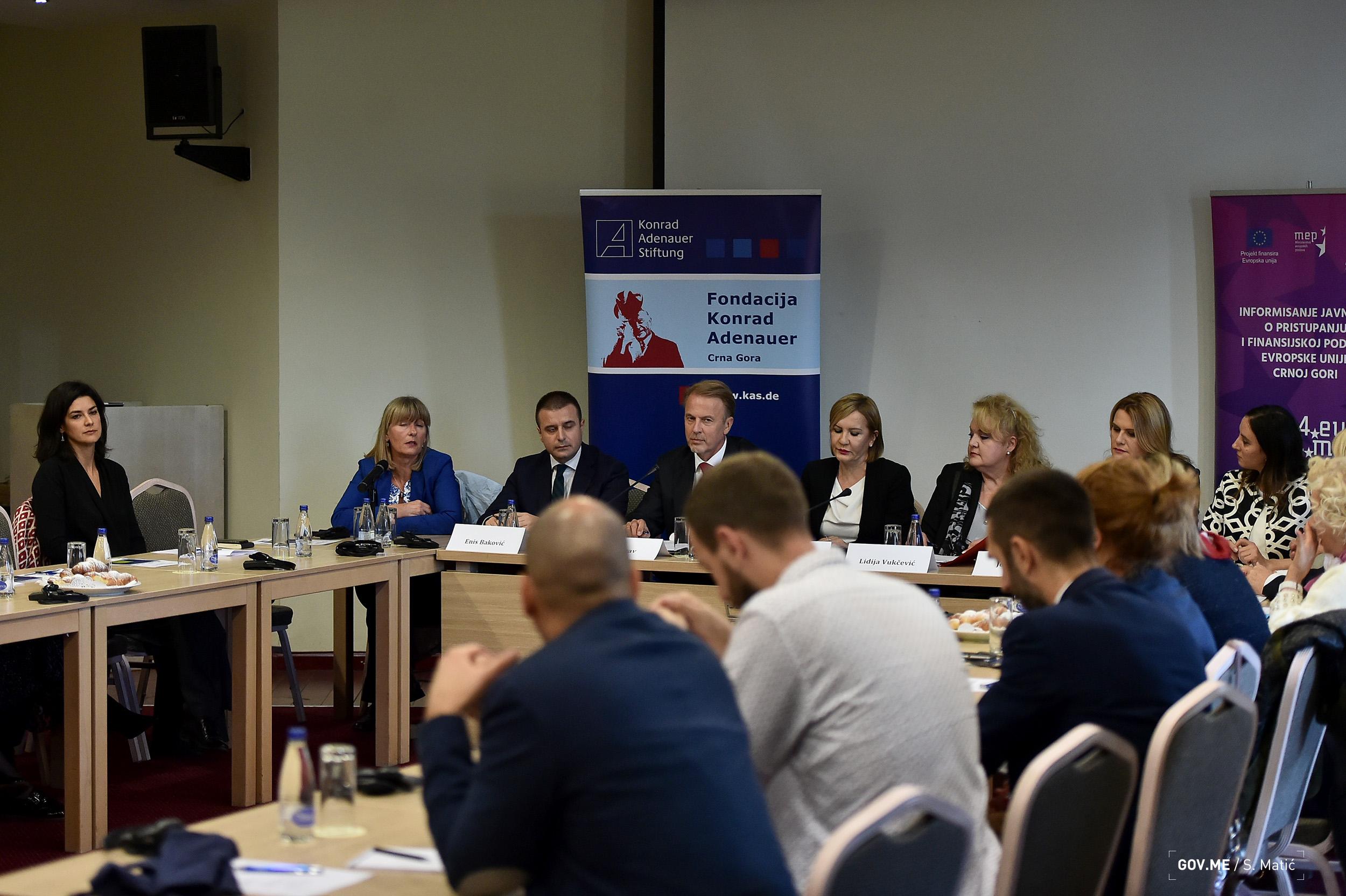 2018 11 13 Konferencija za medije o nalazima iz Radnog dokumenta EK o stanju u poglavljima 23 i 24 u Crnoj Gori   FOTO (6)