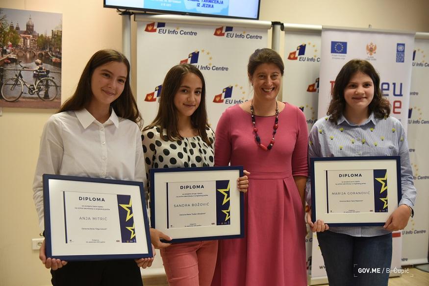 evropski dan jezika dodjela diploma uenicima 48797680073 o